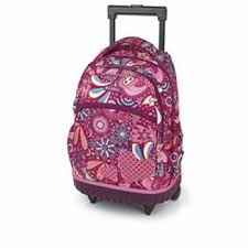 کیف مدرسه دخترانه چرخ دار